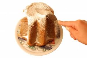 gâteau decoupé