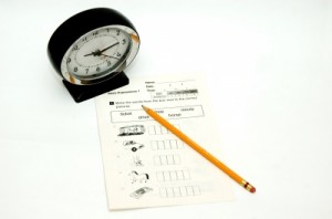 Test et note comme à l'école