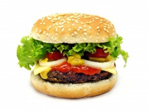 Le fast food monte