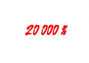 CERN 20000%