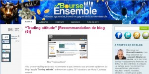 article bourse ensemble