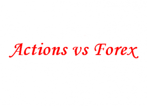 bourse vs Forex