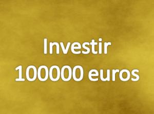 investir 100000 euros bourse en ligne