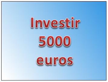 investir 5000 euros en bourse