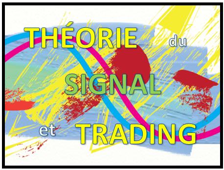 Théorie du signal et trading en bourse