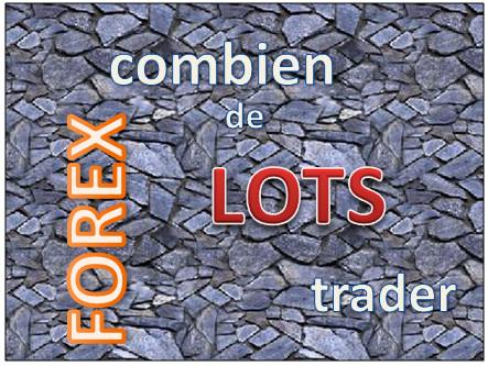 nombre de lots forex