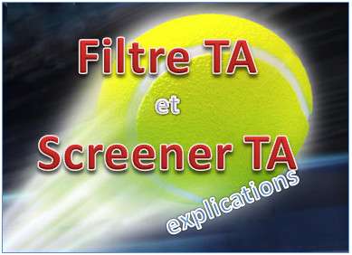 explications filtre TA screener TA