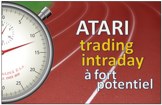 Atari : trading intraday à fort potentiel