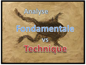 analyse technique vs analyse fondamentale