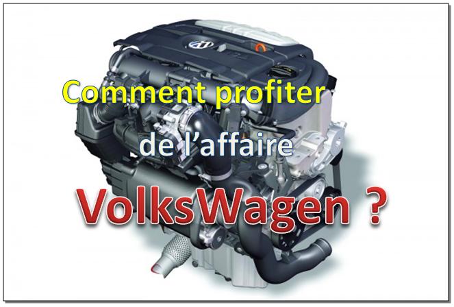 Comment jouer la baisse de Volkswagen ?