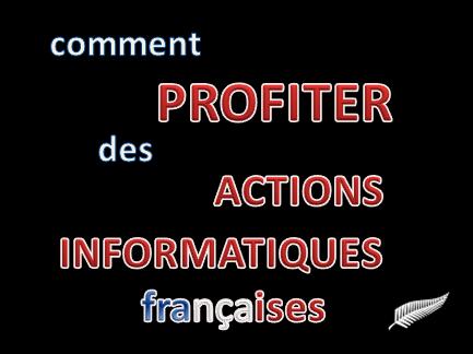 Comment jouer la hausse des actions informatiques en France ?