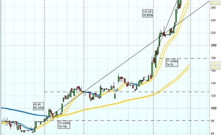 Ces actions qui battent des records alors que les marchés s'effondrent