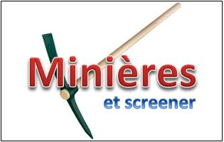minieres utiliser screener