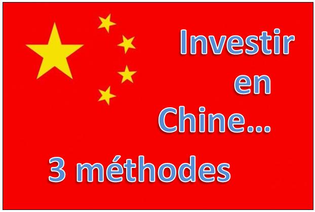 3 très bonnes idées pour investir en Chine sans y aller