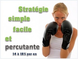 strategie simple percutante