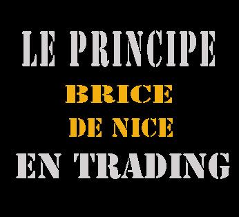 Le principe Brice de Nice en trading [vidéo de la semaine]