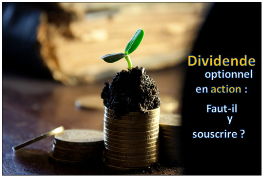 Dividende optionnel en action : faut-il l'accepter ?