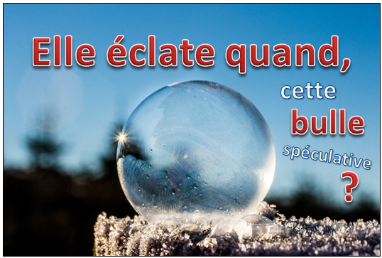 bulle speculative quand elle eclate