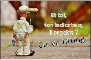 curve fitting indicateur qui repeint