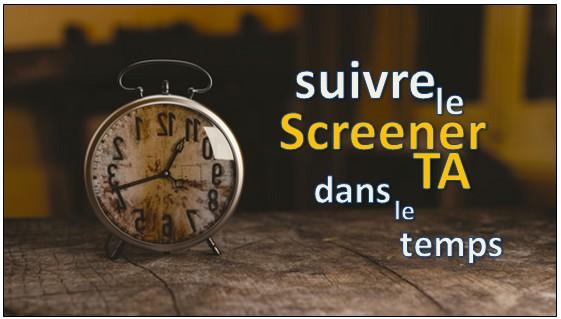 Visualiser le Screener TA dans le temps sur une action particulière