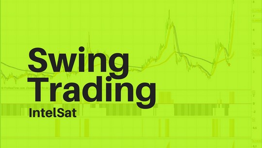 Swing trading intelsat