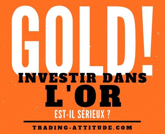Investir dans les mines d'or est-il sérieux ?