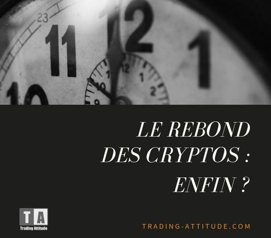 Rebond des cryptos : enfin ?