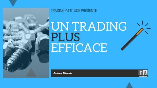 Trading plus efficace tout de suite : technique