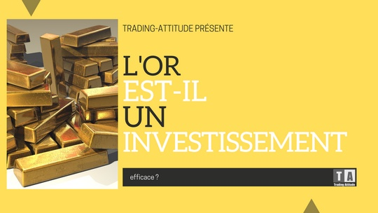 L'or est-il un bon placement ?