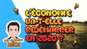 economie redemarre 2020
