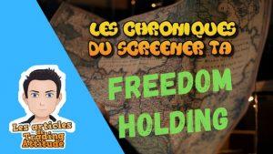 freedom holding chroniques du screener TA