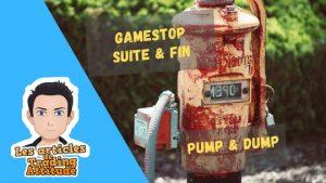 Gamestop suite et fin du pump & dump