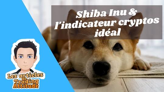 Shiba Inu coin & l'indicateur cryptos idéal pour trader